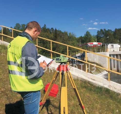 Геотехнический мониторинг плотины