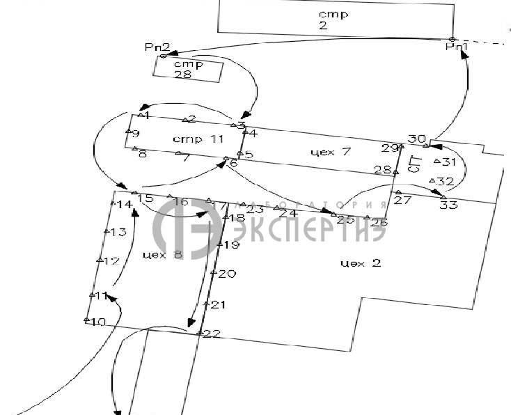 Геотехнический мониторинг карта здания ГосМКБ Вымпел
