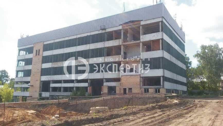 Здание в сергиевом-посаде при геотехническом мониторинге