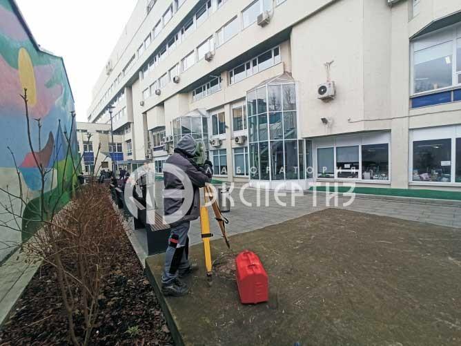 Геотехнический мониторинг здания Россия Сегодня